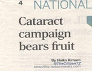 [THE CITIZEN] CATARACT CAMPAIN BEARS FRUITS